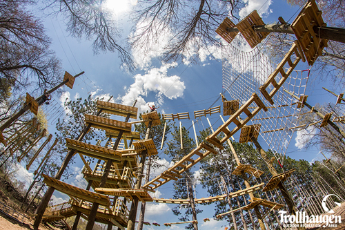 Middle School Students!!!  Let's go to  Trollhaugen and challenge our skills of climbing and team building.